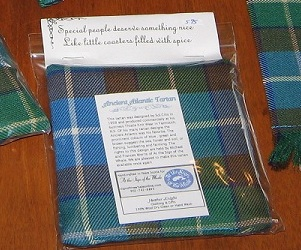 Ancient Atlantic Tartan Spiced Coasters
