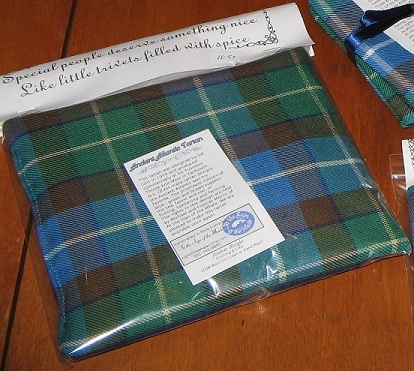 Ancient Atlantic Tartan Spiced Trivet