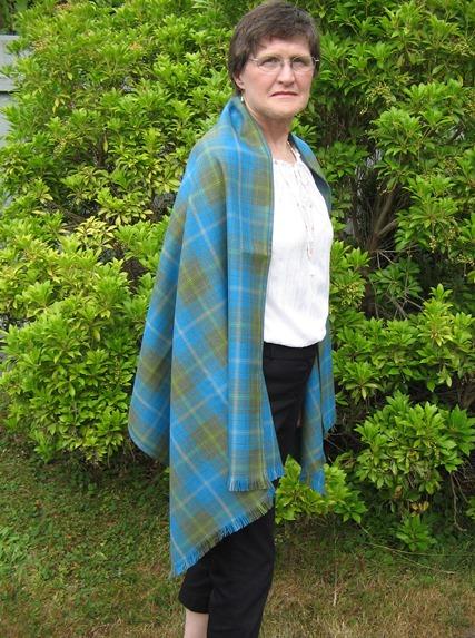 27 inch Yarmouth tartan stole