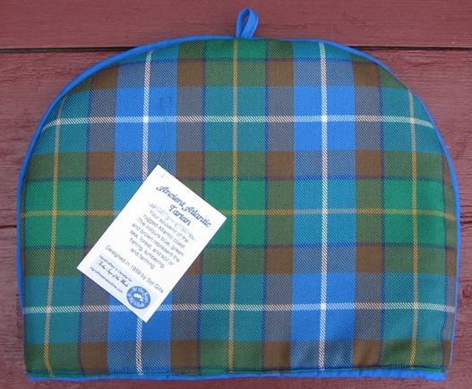 Ancient Atlantic Tartan tea cozy