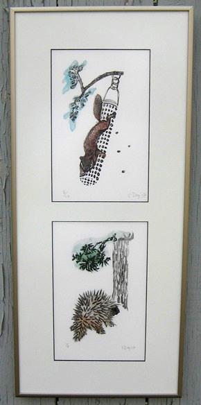 Day Squirrel & Porcupine
