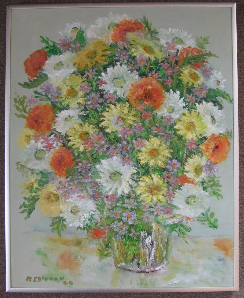 Chipman Bouquet framed