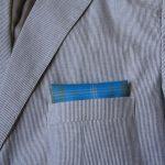stiped jacket presidential